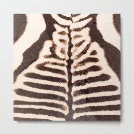 Zebra - stripes - classic - #society6 #buyart Metal Print