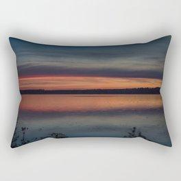 Another colorful morning Rectangular Pillow