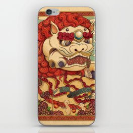 Chinese Lion iPhone Skin