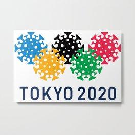 Tokyo 2020 Metal Print