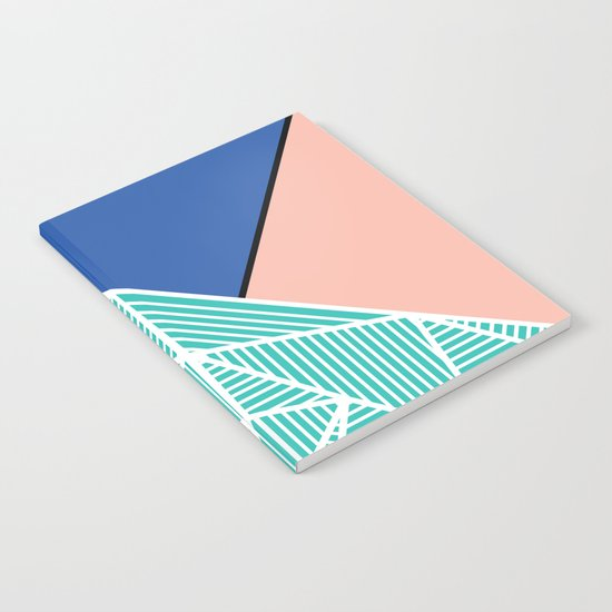 B Rays Geo 4 Notebook