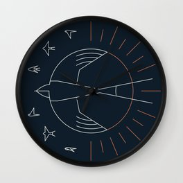 Swallow The Sun Wall Clock