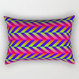 Zig Zag Folding Rectangular Pillow