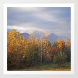Cades Cove Autumn Art Print