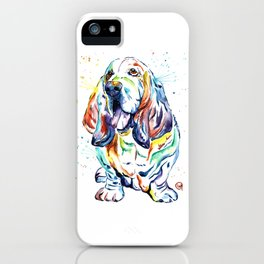 Basset Hound iPhone Case