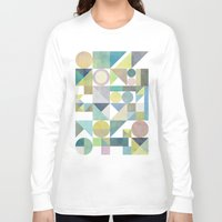 nordic Long Sleeve T-shirts featuring Nordic Combination 21 by Mareike Böhmer