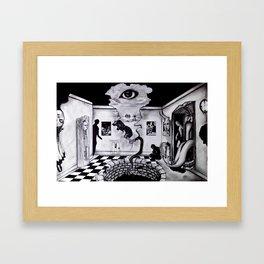 BREATHING ROOM Framed Art Print