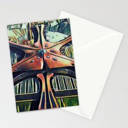 China Beijing Daxing International Airport Artistic Illustration Picasso Style Stationery Cards