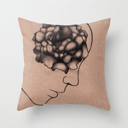 Blind in Love Throw Pillow