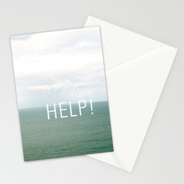 Help. Stationery Cards