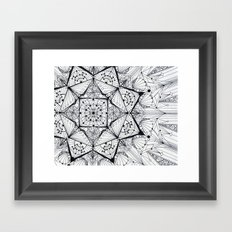 integration Framed Art Print