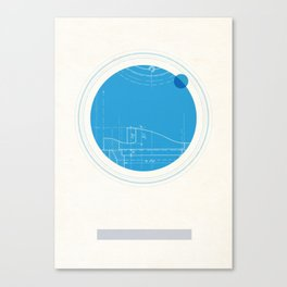 Neptune I Canvas Print