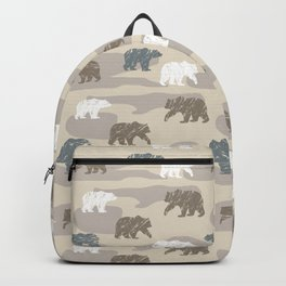 Bearish camouflage Backpack