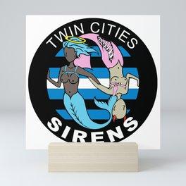 Sirens Logo Mini Art Print