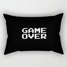 Game Over Rectangular Pillow