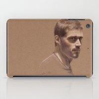 jack daniels iPad Cases featuring Jack by Jackie Sullivan