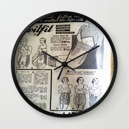 Corsetry Wall Clock