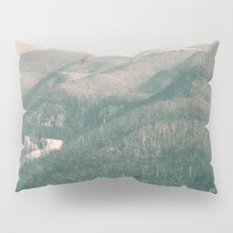 West Virginia Mountains Pillow Sham