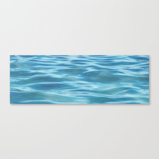 Water / H2O #68 (water abstract) Canvas Print