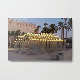 LACMA Urban lights Los Angeles Metal Print