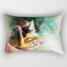 Self-Loving Embrace Rectangular Pillow