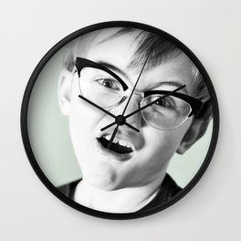 Ich  Liebe  Dich,  Schatzi! Wall Clock