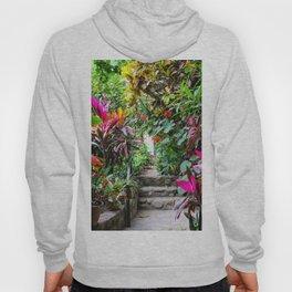 Dreamy Mexican Jungle Garden Hoody