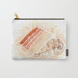 Ombre Cake Slice Carry-All Pouch
