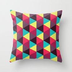 Isometrix 018 Throw Pillow