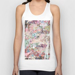 Strasbourg map Unisex Tank Top