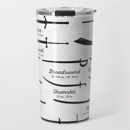 Common Sword Types Travel Mug