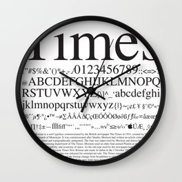 Times Wall Clock