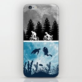 Close Encounters of the Moon iPhone Skin