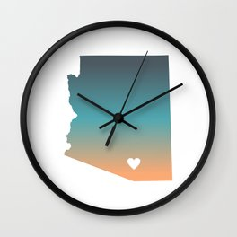Arizona - Tucson Wall Clock