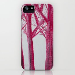 all trees iPhone Case