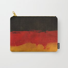 Watercolor flag of Germany Carry-All Pouch