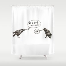 That's So Raven Shower Curtain