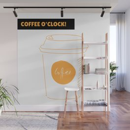 Coffee time | Hora del café Wall Mural