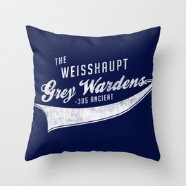 Weisshaupt Grey Wardens Throw Pillow