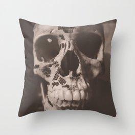 Orbicularis Oculi Throw Pillow
