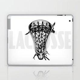 Lacrosse Negative Laptop & iPad Skin