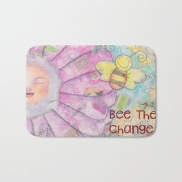 Save The Bees - Bee The Change Bath Mat