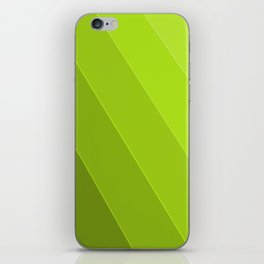 Green Gradient to Light iPhone Skin