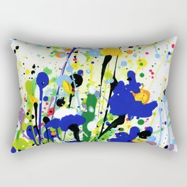 Deep In The Meadow 2 by Kathy Morton Stanion Rectangular Pillow