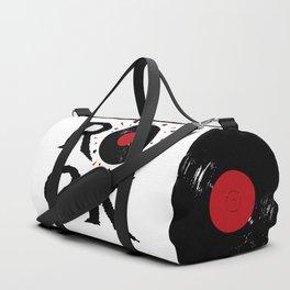 Rock illustration Duffle Bag