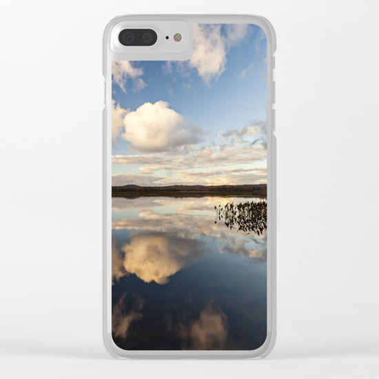 reflections on South Bay Clear iPhone Case