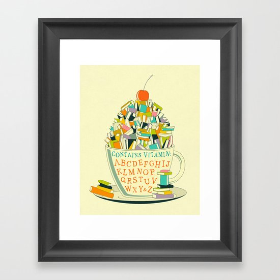READ Framed Art Print