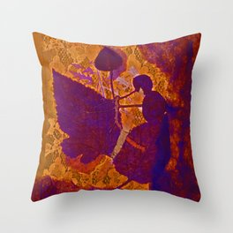 Reverence to Nature Throw Pillow
