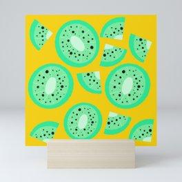 Kiwi be friends? Mini Art Print