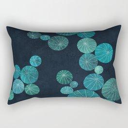 Turquoise cactus field Rectangular Pillow